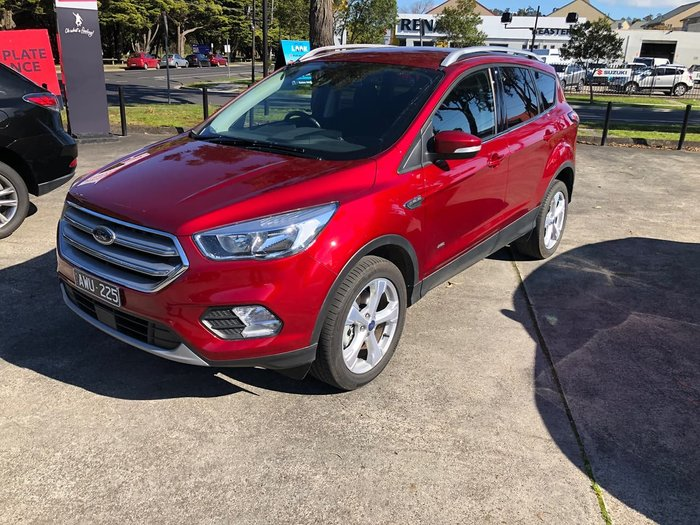 2018 Ford Escape Trend ZG MY19.25 AWD Red