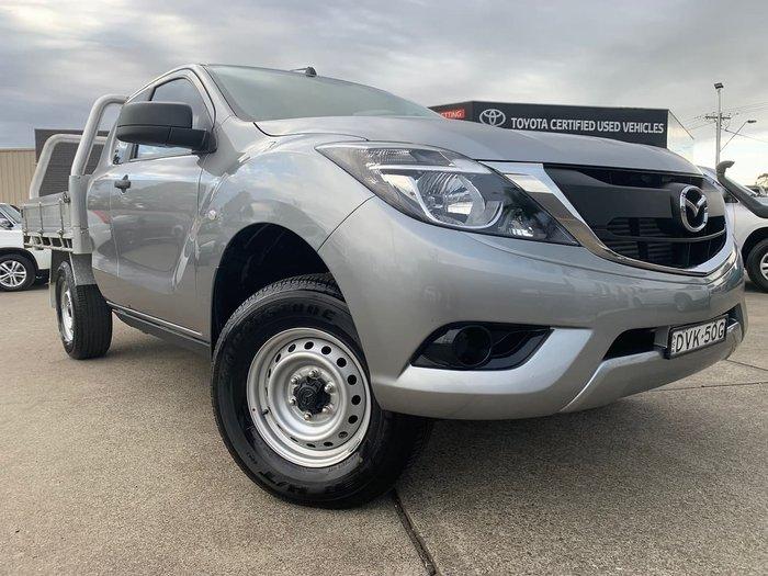 2017 Mazda BT-50 XT Hi-Rider UR Silver