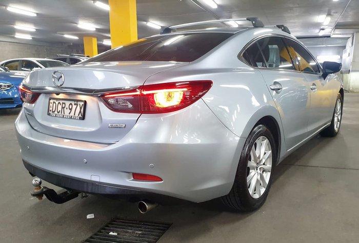 2015 Mazda 6 Touring GJ Series 2 Silver