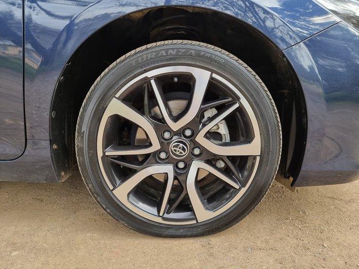 2017 Toyota Camry Atara SX ASV50R Blue