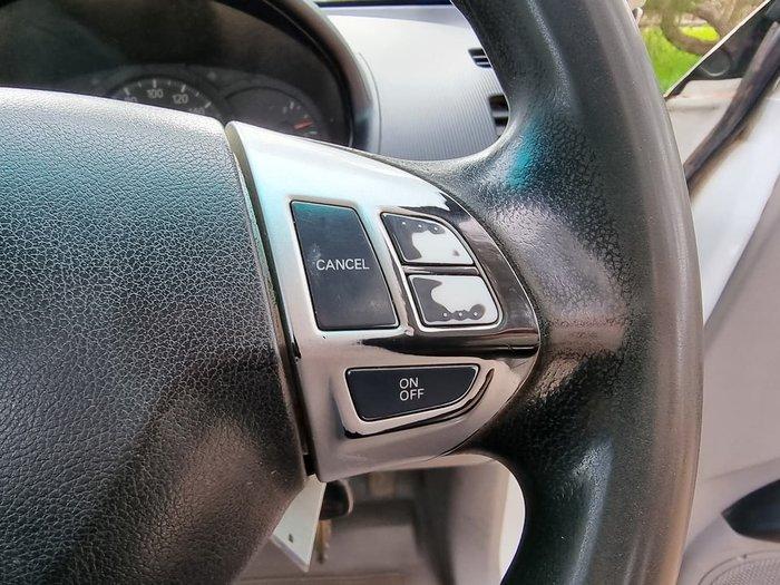 2009 Mitsubishi Triton GLX MN MY10 White