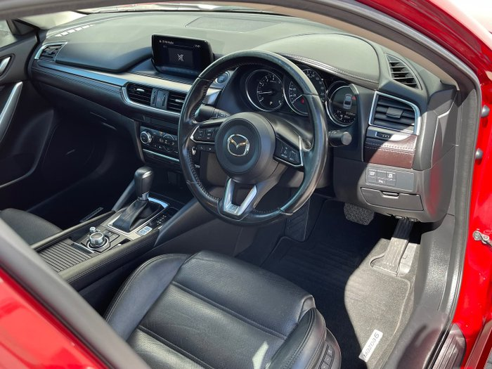 2017 Mazda 6 Touring GL Series Soul Red