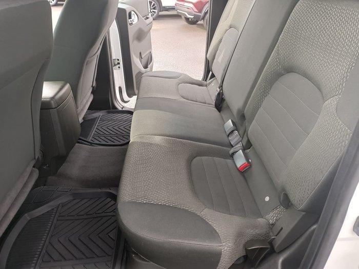 2014 Nissan Navara ST D40 Series 6 4X4 White