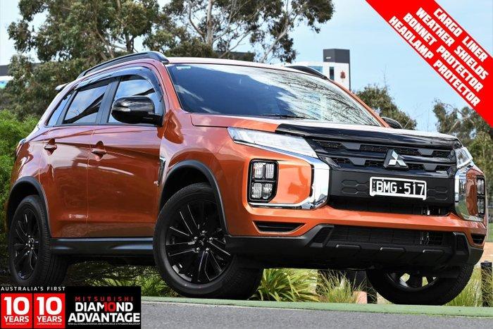 2021 Mitsubishi ASX MR Plus XD MY21 Sunshine Orange