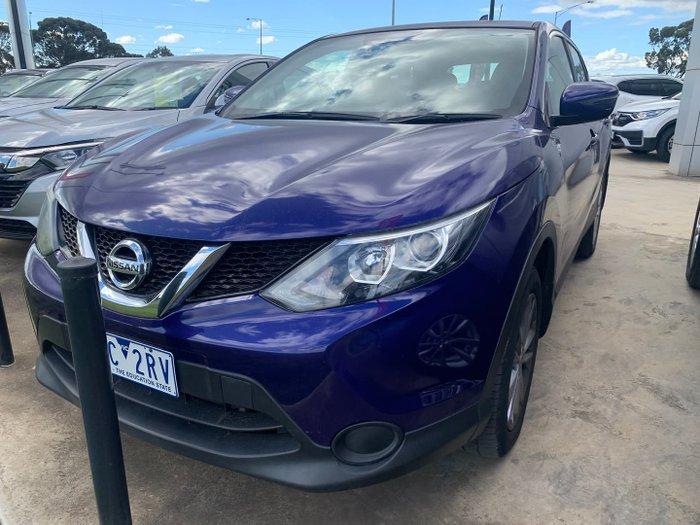2016 Nissan QASHQAI ST J11 Ink Blue