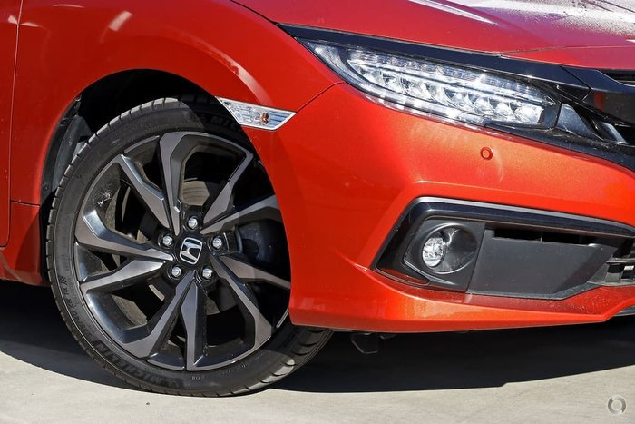 2019 Honda Civic RS 10th Gen MY19 Phoenix Orange