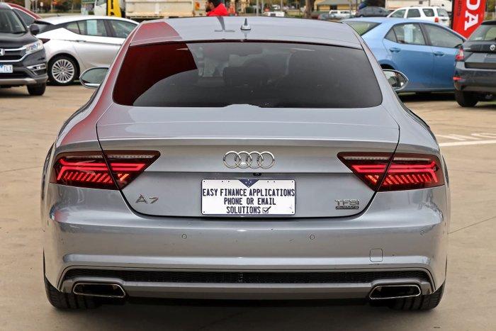 2017 Audi A7 Black Edition 4G MY18 Four Wheel Drive Tornado Grey