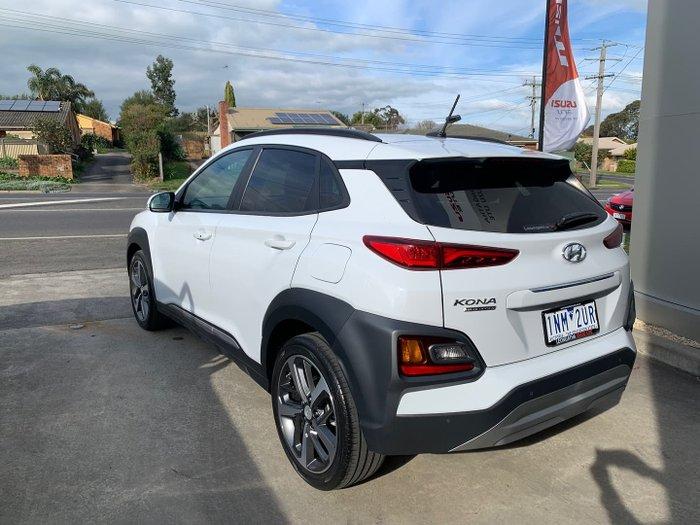 2018 Hyundai Kona Highlander OS MY18 Chalk White