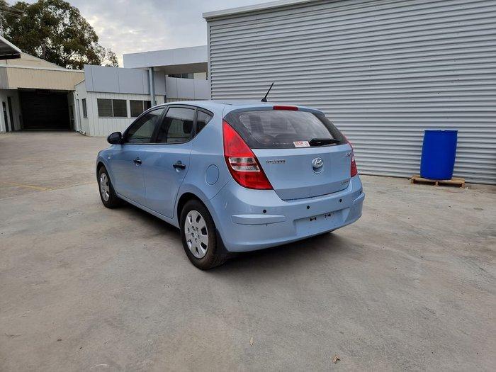 2011 Hyundai i30 SX FD MY11 Blue