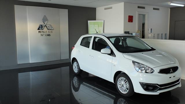 2020 Mitsubishi Mirage ES LA MY20 WHITE