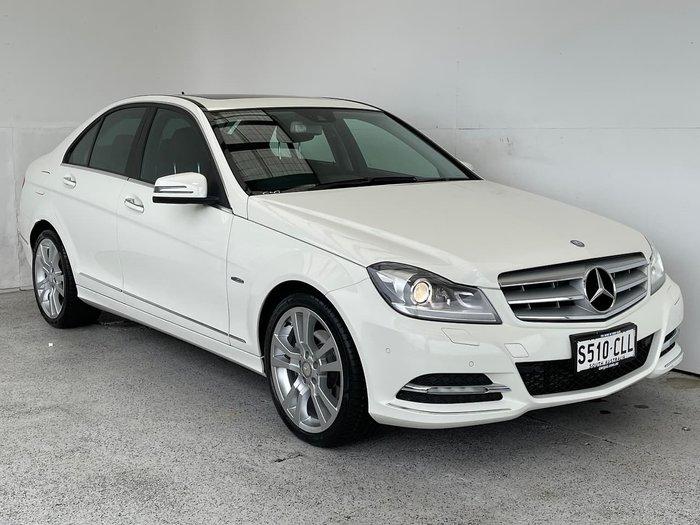 2011 Mercedes-Benz C-Class C250 CDI BlueEFFICIENCY Avantgarde W204 MY11 White