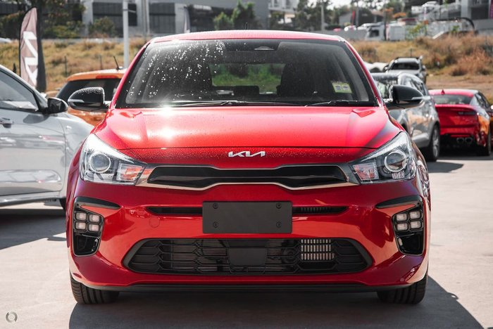 2021 Kia Rio GT-Line YB MY22 Red