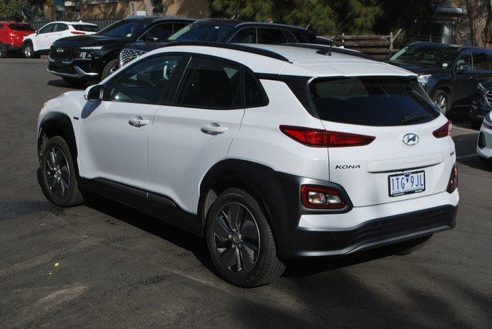 2019 Hyundai Kona electric Launch Edition OS.3 MY19 Chalk White