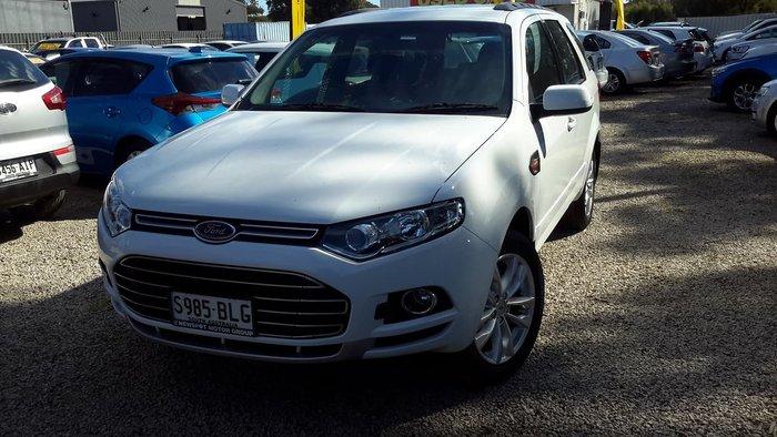 2012 Ford Territory TS SZ White