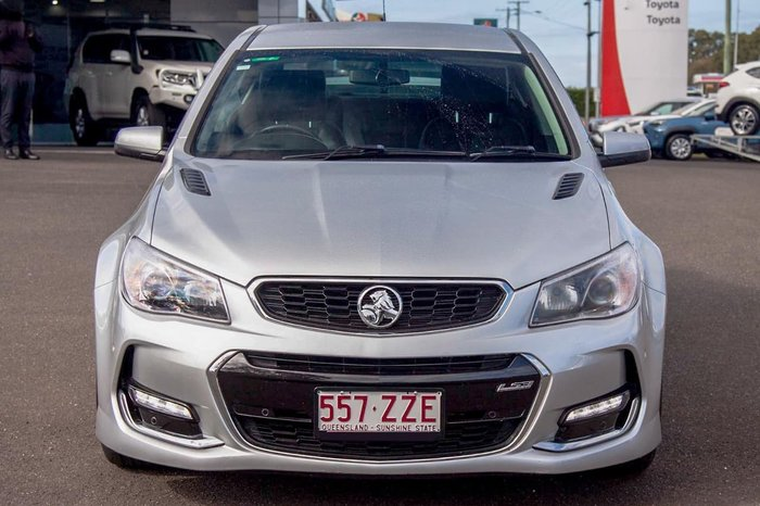 2016 Holden Commodore SS VF Series II MY16 SILVER