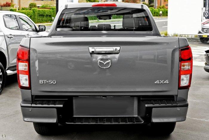 2021 Mazda BT-50 GT TF 4X4 Dual Range Concrete Grey