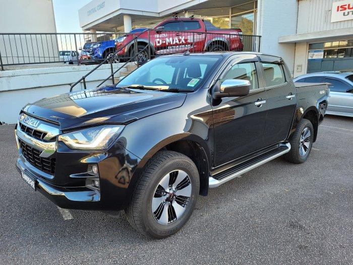 2020 Isuzu D-MAX LS-U MY21 4X4 Dual Range Basalt Black