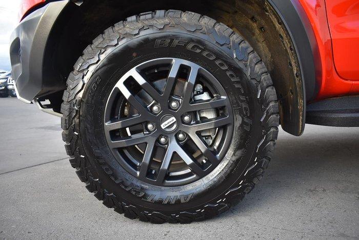 2020 Ford Ranger Raptor PX MkIII MY20.75 4X4 Dual Range Red