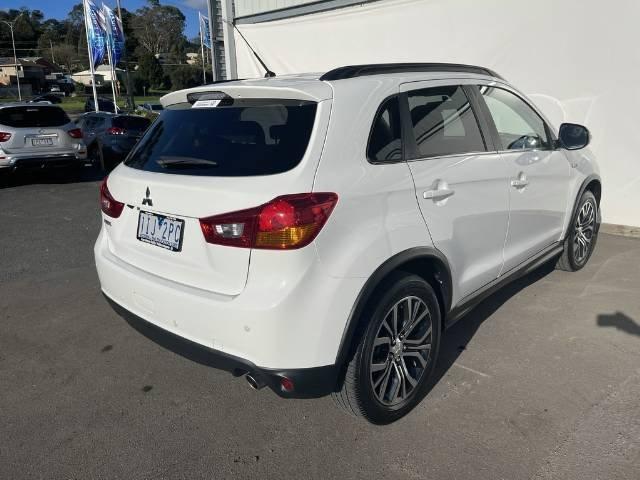 2016 Mitsubishi ASX LS XB MY15.5 WHITE
