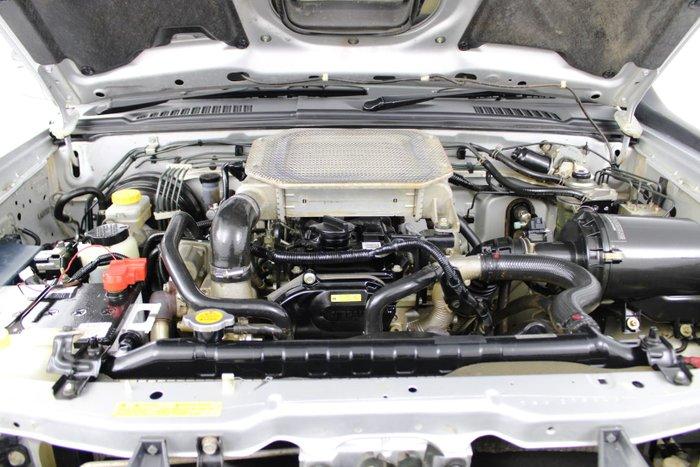 2011 Nissan Navara ST-R D22 MY10 4X4 Silver