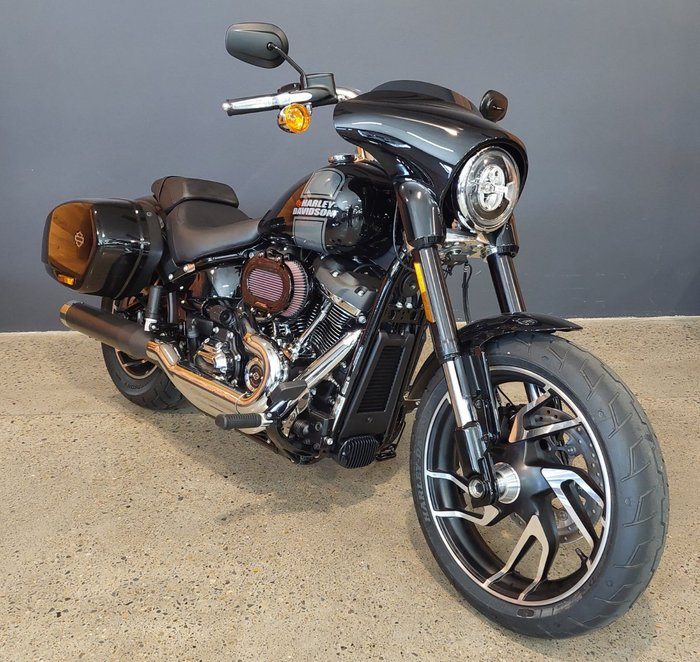 2021 Harley-davidson 2021 Harley-davidson 1700CC FLSB SPORT GLIDE CRUISER Black
