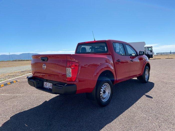 2021 Nissan Navara SL D23 Red