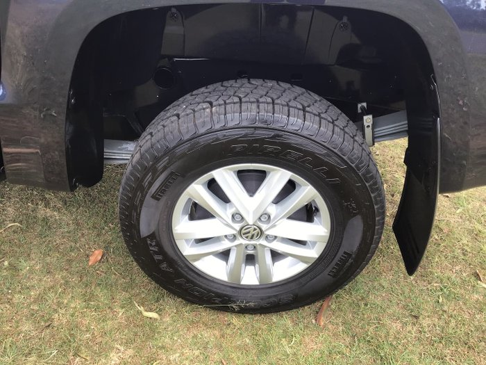 2018 Volkswagen Amarok TDI420 Core 2H MY19 4X4 Constant Starlight Blue