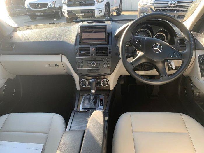 2010 Mercedes-Benz C-Class C250 CGI Avantgarde W204 MY10 Silver