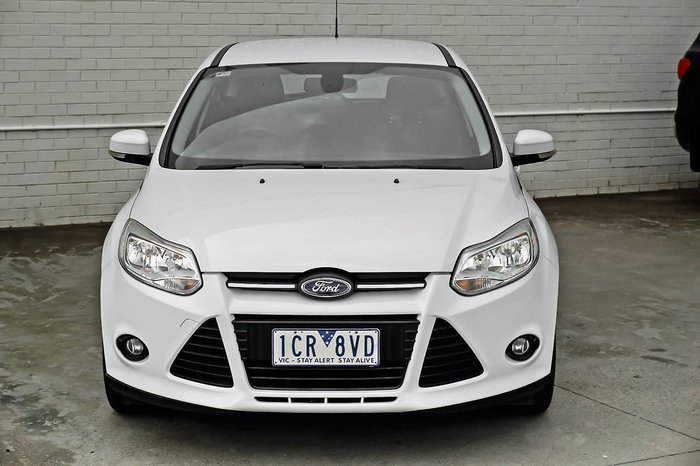 2014 Ford Focus Trend LW MKII White