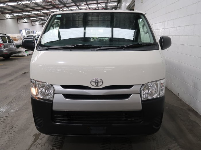 2014 Toyota Hiace KDH201R MY14 French Vanilla