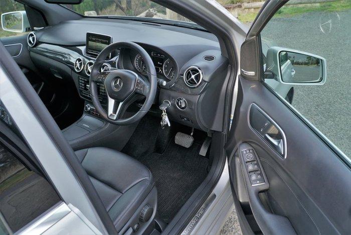 2013 Mercedes-Benz B-Class B200 W246 Polar Silver