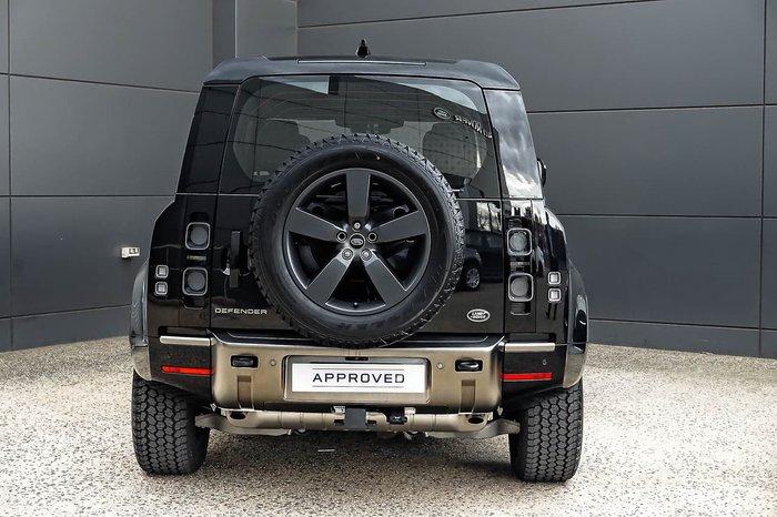 2021 Land Rover Defender 110 P400 X L663 MY21 AWD Black
