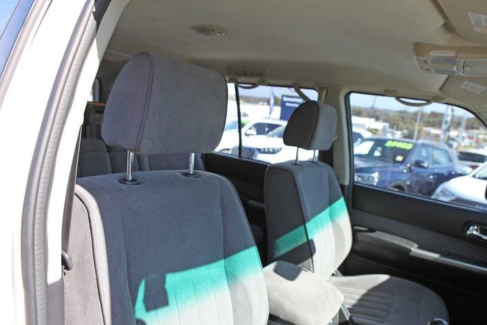 2012 Nissan Patrol ST GU 8 4X4 Dual Range White
