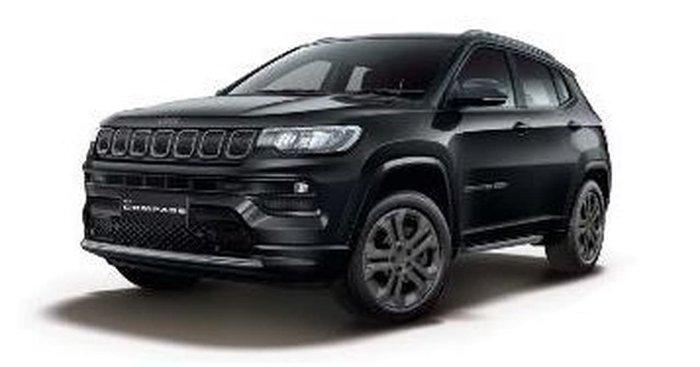 2021 Jeep Compass 80th Anniversary M6 MY21 4X4 On Demand Black