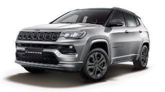 2021 Jeep Compass 80th Anniversary M6 MY21 4X4 On Demand Grey