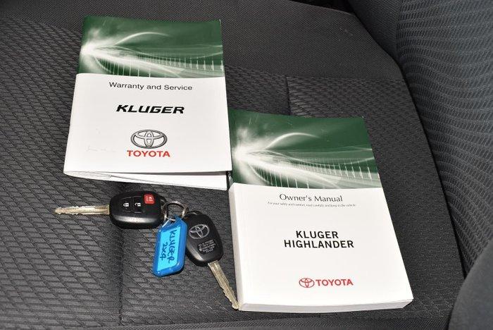 2015 Toyota Kluger GX GSU50R Predawn Grey