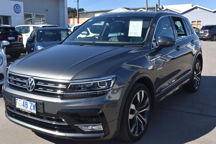 2017 Volkswagen Tiguan 140TDI Highline 5N MY17 Four Wheel Drive Indium Grey