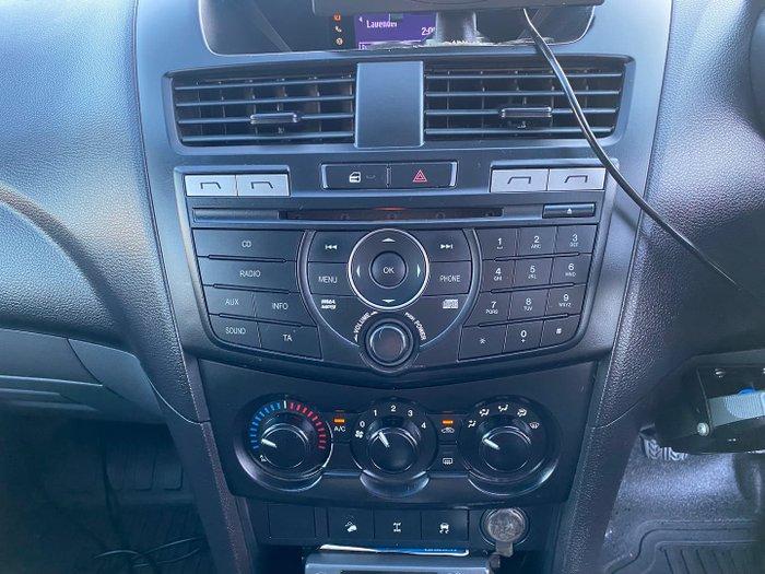 2013 Mazda BT-50 XT UP 4X4 Dual Range Highlight Silver