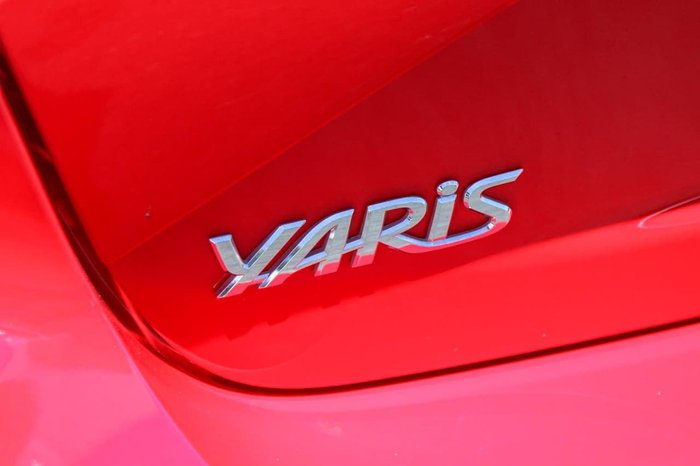 2017 Toyota Yaris ZR NCP131R RED