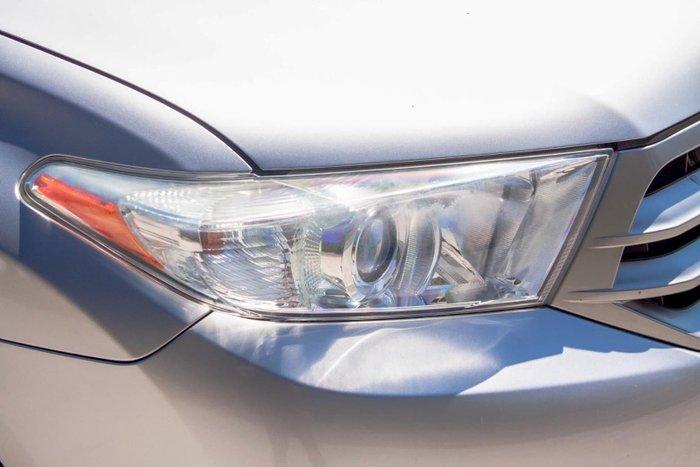 2011 Toyota Kluger KX-R GSU45R MY11 AWD Silver Pearl