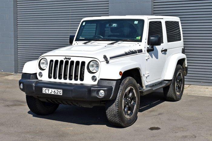 2014 Jeep Wrangler Polar JK MY14 4X4 Dual Range White