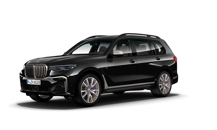2021 BMW X7 M50i G07 4X4 Constant Black