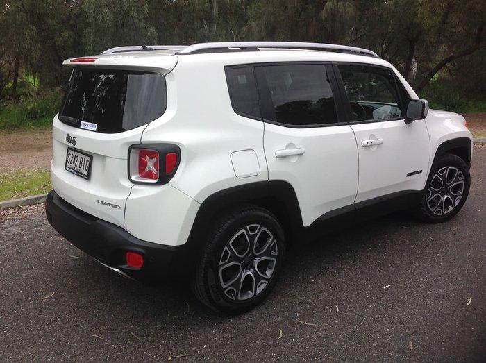 2015 Jeep Renegade Limited BU MY15 White