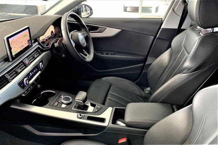 2018 Audi A4 S line B9 MY18 Four Wheel Drive Moonlight Blue