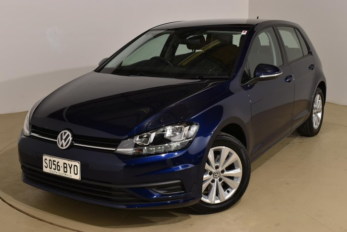 2018 Volkswagen Golf 110TSI Trendline 7.5 MY19 Atlantic Blue