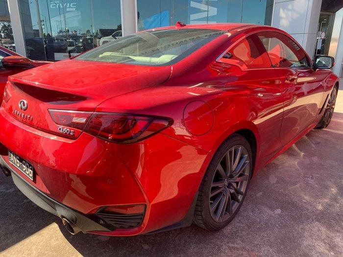 2017 INFINITI Q60 Red Sport V37 Dynamic Sunstone Red