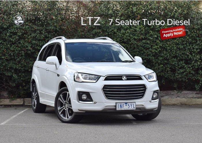 2018 Holden Captiva LTZ CG MY18 AWD White