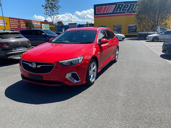 2018 Holden Commodore RS-V ZB MY18 AWD Red