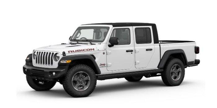 2021 Jeep Gladiator Rubicon JT MY21 V2 4X4 On Demand White