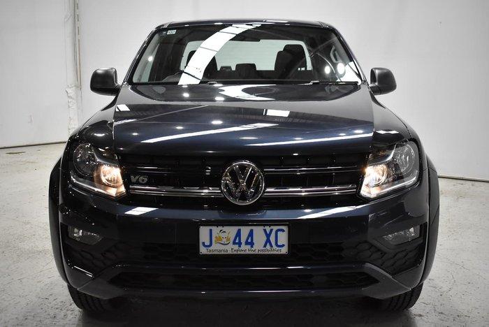 2019 Volkswagen Amarok TDI550 Core 2H MY19 4X4 Constant Starlight Blue